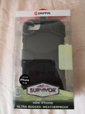 NEW GRIFFIN SURVIVOR MILITARY DUTY CASE COVER BELT CLIP FOR iphone 7/8
