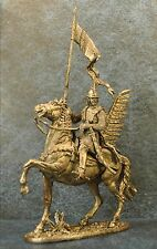 Tin Soldiers * Cavalry figure * Polish hussar gonfalons, 1605 * 54-60 mm