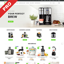 Premium Dropshipping Website | KITCHEN APPLIANCES STORE | Ready-Made Business