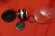 Nikkor-Q Auto 1:2.8 f=135mm camera lens;Nikon135mm film camera lens&case
