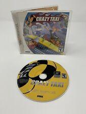 Crazy Taxi Sega Dreamcast Authentic Complete CIB - Tested VGC
