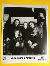 Vilma Palma E Vampiros Press Photo 8x10, Sony Latino.