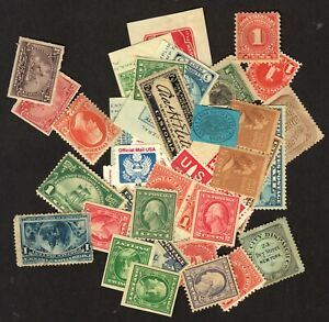 U.S. lot, unsorted, some faults, some better, uncancelled