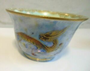 Wedgwood Vintage Lustre Small Bowl - Chinese Dragon Pattern