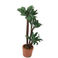 1:12 Dollhouse Miniature Indoor Plant in Clay Pot// Miniature Garden BD A1033