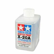 X-20A ACRYLIC PAINT THINNER (250ML BOTTLE)  #81040 TAMIYA