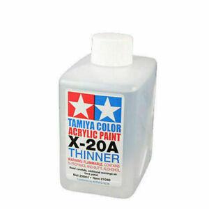Tamiya X-20A 250ml Thinner Acrylic Paint 81040