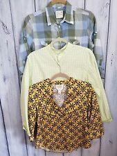 WOMENS Lot Of 3 Shirts Size Small Petite Talbots Stretch  & American Eagle Top