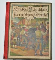 1890 Antique German Book Käthchens Schicksale Katys Fate Tales Youth By Foehse