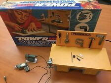 Vintage 1969 IDEAL POWER MITE WORKSHOP IN BOX COMPLETE 4794-4