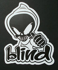 "Sticker Aufkleber Matt-Optik ""Blind"" Laptop, Notebook, Stickerbomb ..."