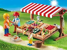 Playmobil 6121 Country Life Farmer's Market Made in Germany Role Play New 2016