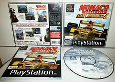 MONACO GRAND PRIX RACING SIMULATOR 2 - PlayStation 1 PS1 Gioco Game Play Station