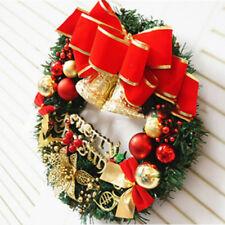Bola De Navidad Guirnalda Decoración De Puerta Colgante De Pared temporadas