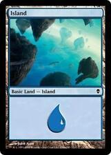 20 Basic Land #234a - SAME ART - Island - Zendikar - SP/NM - Magic MTG FTG