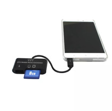3 IN 1 MICRO USB CARD READER For  SAMSUNG GALAXY