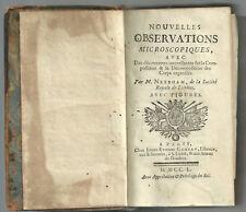 1750 - Scienza, Biologia, Microscopio...Par m. Needham...