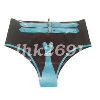 Pure 100% Latex Shorts Sexy Underwear 0.4mm size S-XXL