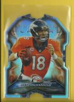 Peyton Manning 2015 Topps Platinum Players Die Cut Card # PDC-PM Colts Broncos
