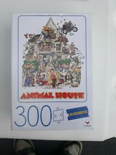 """Animal House Movie Poster 300 Piece Puzzle Blockbuster 18"""" x 24"""" Vtg Man Cave"""