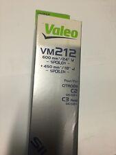 KIT SPAZZOLE TERGICRISTALLO VALEO VM212 600mm + 450mm CITROEN C2 / C3