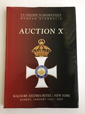 LA GALERIE NUMISMATIQUE AUCTION CATALOG NY JAN 2007  WORLD ORDER MEDALS