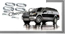 2003-2012 FORD EXPEDITION CHROME DOOR HANDLES COVER TRIM NEW 03-12