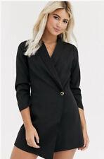 New Look Black Blazer Dress 18 BNWT