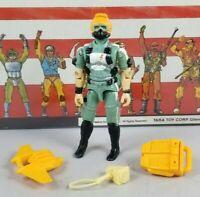 Original 1986 GI JOE WET SUIT V1 ARAH not COMPLETE figure UNBROKEN Cobra
