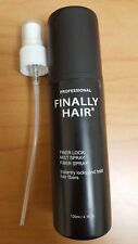 Finally Hair Fiber Hold Hair Sprays For Use With Hair Building Fibers