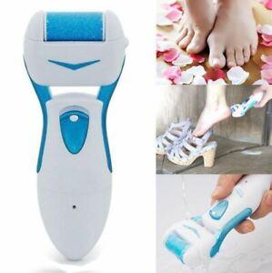 Electric Foot Pedicure Roller File Feet Hard Dead Skin Remover Callus Battery Op