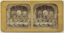 Robert le Diable Scène VI Théâtre Danse Paris Photo Stereo Vintage Diorama