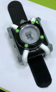Ben 10 Ten Rare Deluxe Omnitrix Watch With Lights & Sounds - Tested and Working