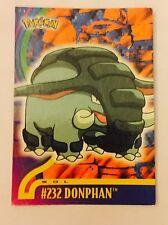 carte pokémon Reg Pokémon Topps Trading Card  Panini Sol # 232 Donphan FR