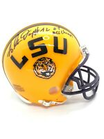 Glenn Dorsey LSU Tigers Signed Mini Helmet NATIONAL CHAMPS 03 JSA COA LSU AUTO