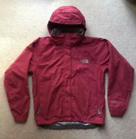The North Face Womens Windbreaker Burgundy Jacket Size S