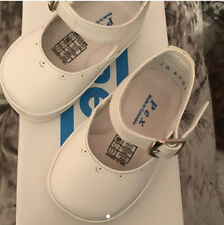Pex Baby Girl White Shoes Size 18