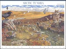 EE. UU. 2003 Oso/Falcon/Wolf/bisonte/Ardilla/Vida Salvaje/Naturaleza/animales Sht 10v (s4835)