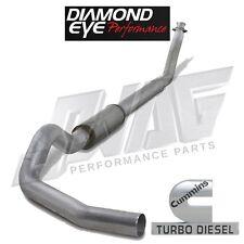 "Diamond Eye Performance Aluminized 4"" Exhaust For '94-02 Cummins 5.9L 5.9"