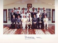 V.Rare Hand Signed Prince Charles Photograph on the Royal Yacht Britannia