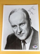 Werner Klemperer Autograph Signed 8X10 Photo PSA/DNA COA LOA Grade 9 Mint