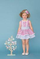 cd994ece8 Vestido de niña Dolce Petit color rosa y azul - Dolce Petit - Primavera –  Vera