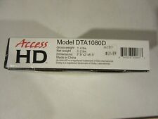 Access HD Digital to Analog TV Converter w/Dedicated Remote Control DTA1080D