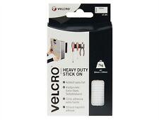 Velcro Brand Heavy-Duty Stick On Strips White 50mm x 100mm White