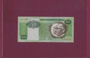 ANGOLA 50 KWANZAS 1984 P-118 UNC kwanza Portugal