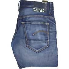 G-Star Arc 3D Men Blue Tapered Regular Jeans W32 L32 (47470)