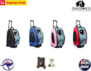 Pet Dog Cat Travel Carrier Bubble Backpack Bag Shoulder Car Seat Stroller Trolly