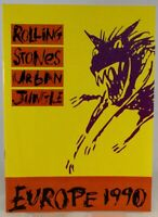 Rolling Stones Programme Vintage  Urban Jungle Europe Tour 1990