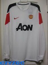 BNWT Manchester United 2010-2011 Long-Sleeves Away Shirt XL