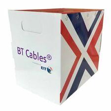 BT Brand CAT5e UTP CCTV Violet CableLSZH Solid Full Copper 305m Reel Box NETWORK